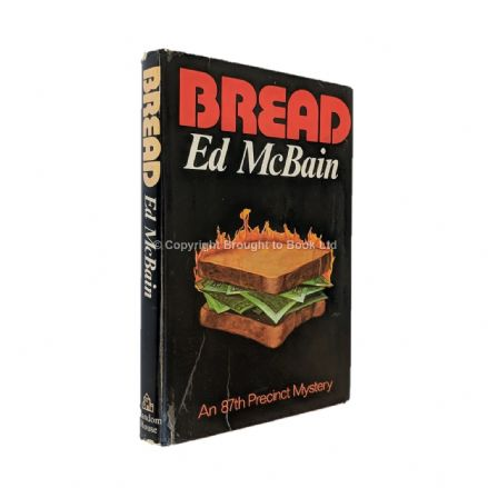 Bread Signed by Ed McBain​​​​​​​ First Edition Random House 1974